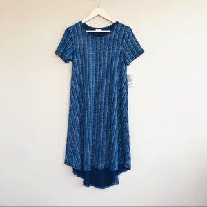 NEW • Lularoe • Carly Short Sleeve Dress Elegant
